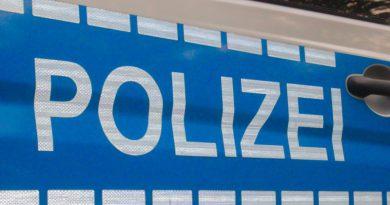 Polizeihubschauber über Rheinsberg